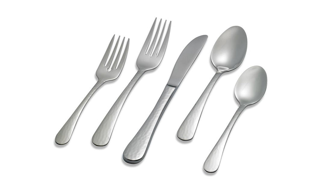 Lagostina Artiste 44pc 18/10 Table Dining Cutlery Set for 8 + Serving Set