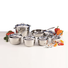 Load image into Gallery viewer, Lagostina Stainless Steel 12-piece Cookware set