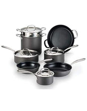 Load image into Gallery viewer, Lagostina Nera Hard Anodized Nonstick 12-Piece Cookware Set