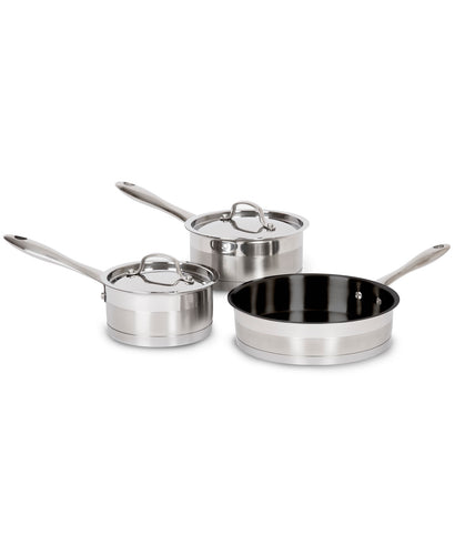Lagostina 5 piece Stainless Steel Cookware Set - Starter Set