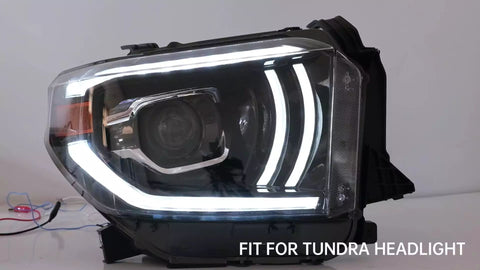 NINTE LED headlights for Toyota Tundra Dexule version