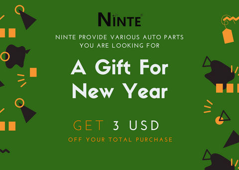 NINTE Gift Card For New Year 2021