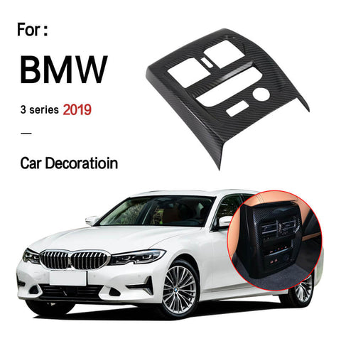 NINTE BMW 3-Series G20 2019 Carbon  Fiber Rear Air Conditioning Vent Panel Decor