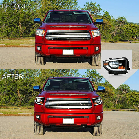 NINTE LED headlights for Toyota Tundra General version