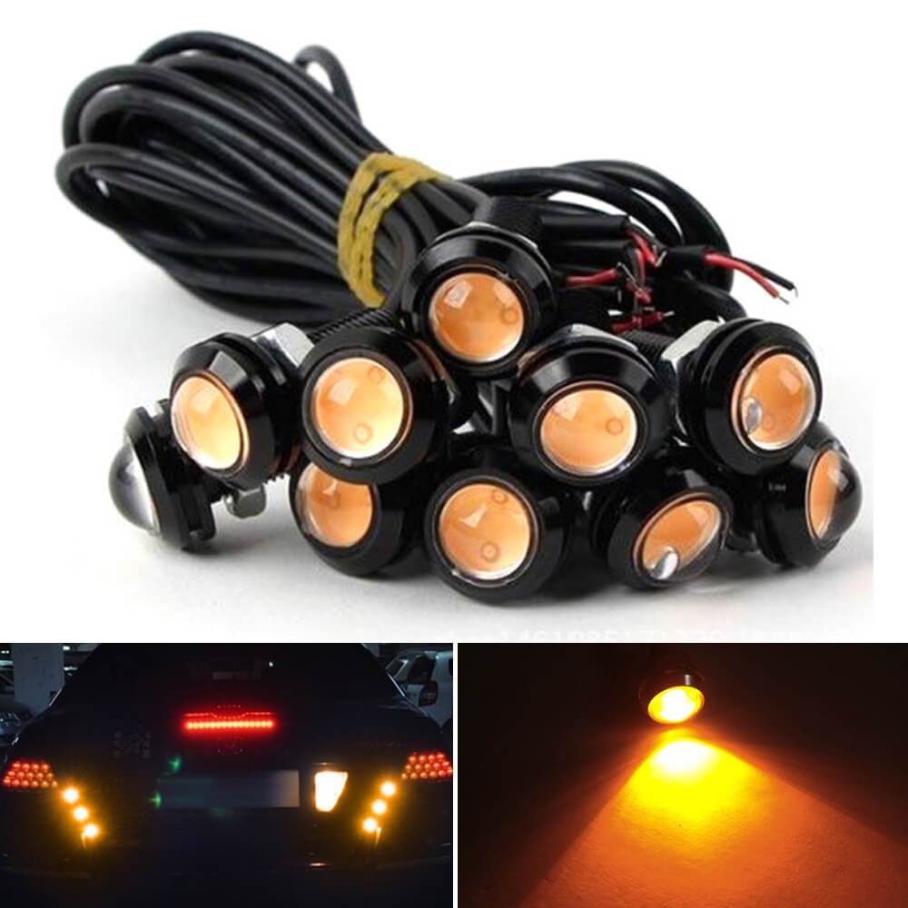 NINTE double layer 18mm Lens LED light amber
