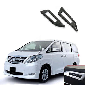 NINTE Interior Seat Switch Cover Trim For Toyota Alphard Vellfire 2015-2018 - NINTE