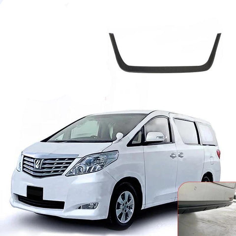 NINTE ABS Rear License Frame Plate Sticker Decoration For TOYOTA Alphard VELLFIRE 2015-2018 - NINTE