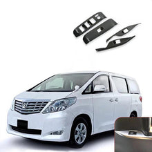 Load image into Gallery viewer, Toyota Alphard 2015-2018 Window Control Panel Glass Lifter Switch Cover Trim Protectors decoration - NINTE