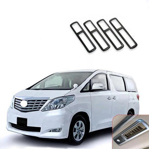 NINTE Car Styling Roof Air Conditioner AC Outlet Vent Trim Panel For Toyota Alphard VELLFIRE 2015-2018 - NINTE