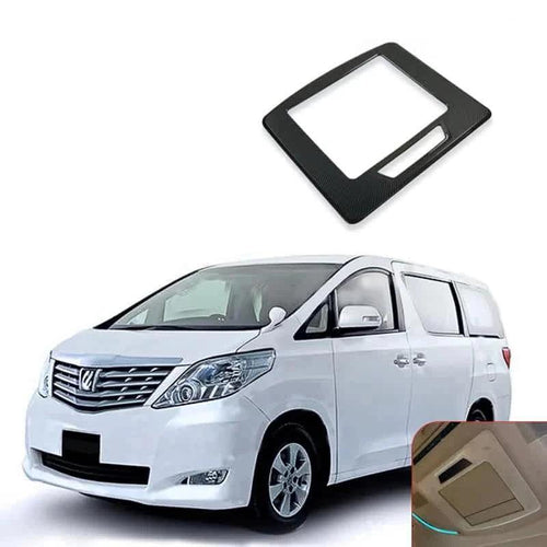 NINTE Rear Display Screen Cover Trim For Toyota Alphard 15-19 - NINTE