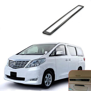 NINTE Rear Air Vent Outlet Frame Trim Cover For Toyota Alphard VELLFIRE 15-18 Left Drive - NINTE