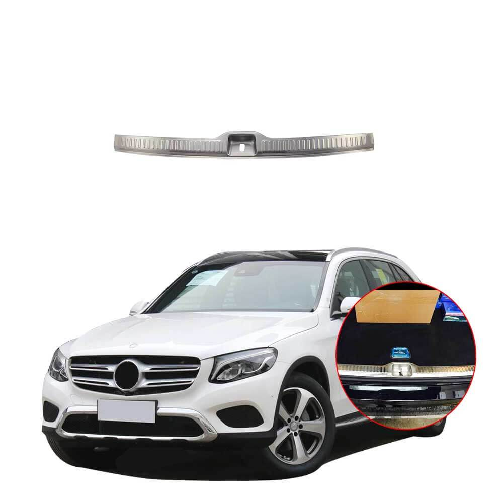 NINTE Mercedes-Benz GLC 2017 Rear Bumper Protector Corner Trim Sticker Cover Accessories