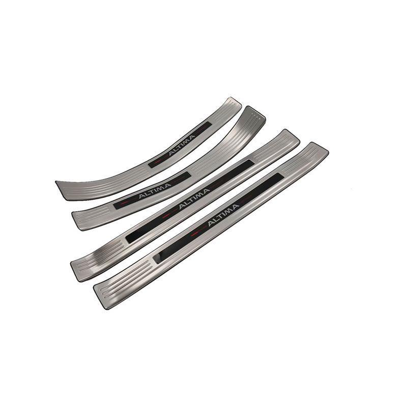 Ninte Nissan Altima 2019 Interior Stainless Steel Sill Scuff Plate Threshold Plate Cover - NINTE