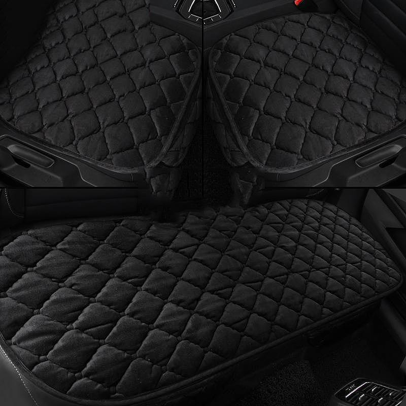 NINTE Toyota RAV4 2020 Car Seat Covers Plush Seat Cushion Chair Mat Non-hybrid version - NINTE