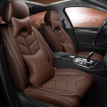 Load image into Gallery viewer, NINTE Universal PU Leather Seat Cover Full Set 5D 5-Seats Car Protector Cushion - NINTE