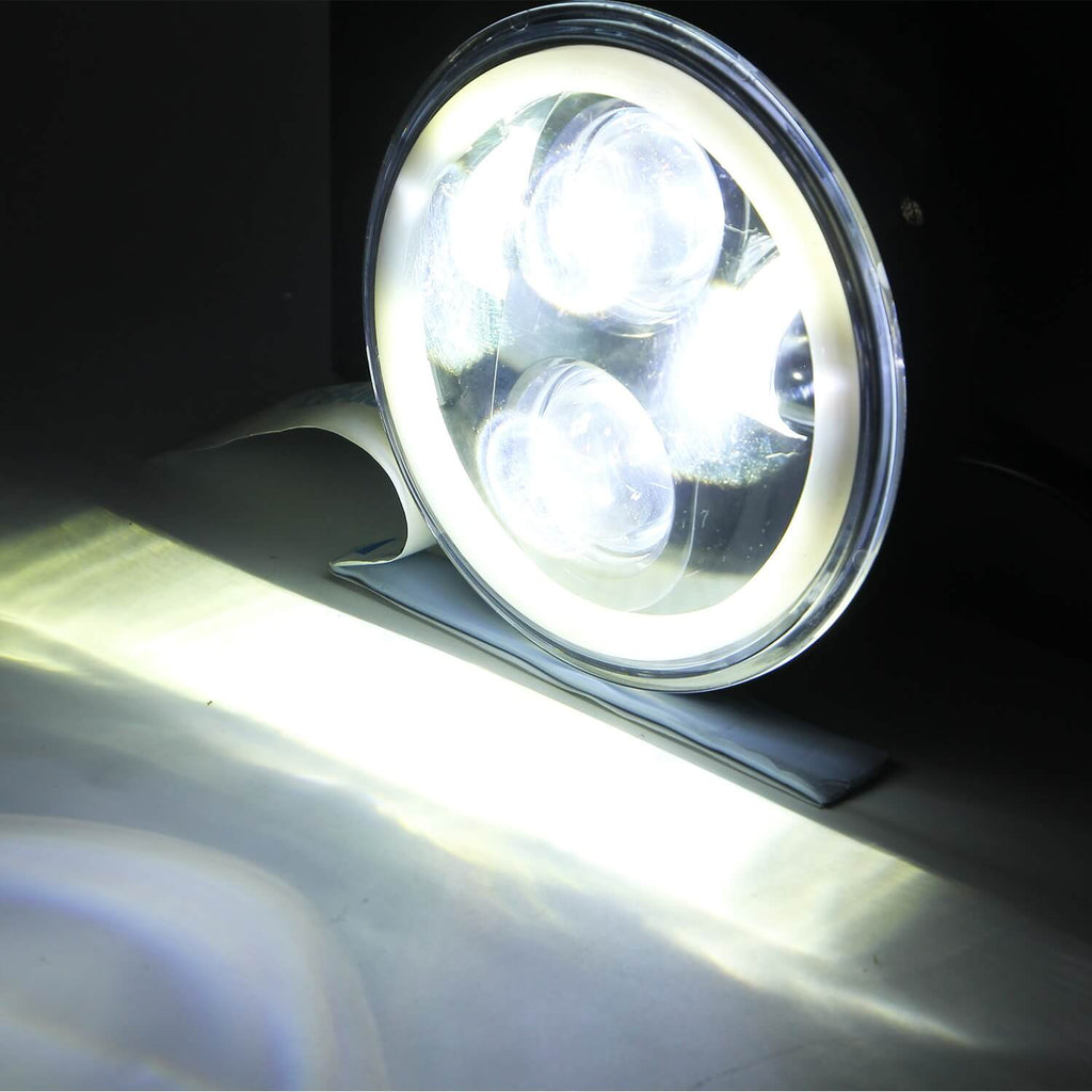 NINTE 1PC 5.75 Inch round LED Headlight DRL