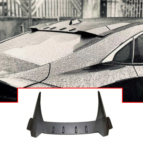 NINTE Rear Roof Cover Spoiler 2016-2019 HONDA CIVIC 10th Sedan R style Wing ABS - NINTE