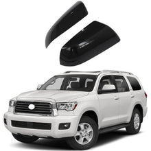 Load image into Gallery viewer, NINTE Toyota Tundra Sequoia 2007-2018 Gloss Black Non-Towing Top Half Mirror Covers - NINTE