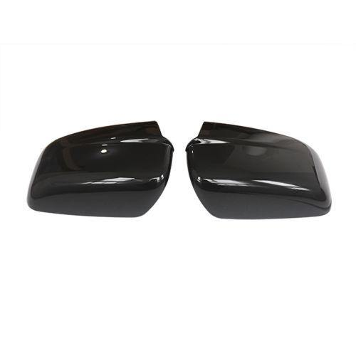 For 2009-2018 DODGE RAM 1500 Mirror Cover Non-Towing W/O Signal Hole Gloss BLACK - NINTE