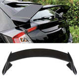 NINTE Spoiler 2016-2019 Honda Civic Hatchback 5 Door R Style Rear Trunk Splitter