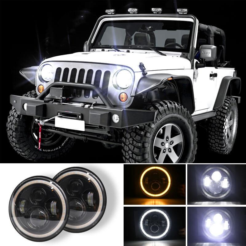 NINTE angel eye headlights 140W