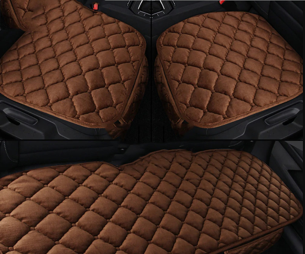 NINTE Toyota Prius 2006-2011 Autumn Winter Seat Covers Plush Seat Cushion Chair Mat - NINTE