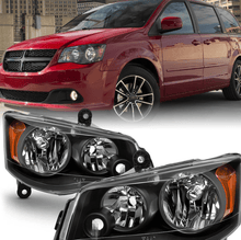 Load image into Gallery viewer, 11-17 Dodge Grand Caravan 08-16 Chrysler Town&Country Amber Headlight Lamp - NINTE
