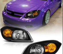 Load image into Gallery viewer, For 05-10 Chevrolet Cobalt Pontiac G5 Infinity Black OE STYLE Headlight Lamp L+R - NINTE