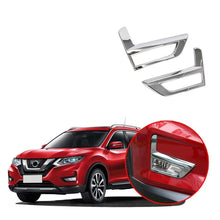 Load image into Gallery viewer, Ninte Nissan Rogue X-trail 2017-2019 Exterior ABS Chrome Front Tail Fog Light Lamp Cover Trim - NINTE
