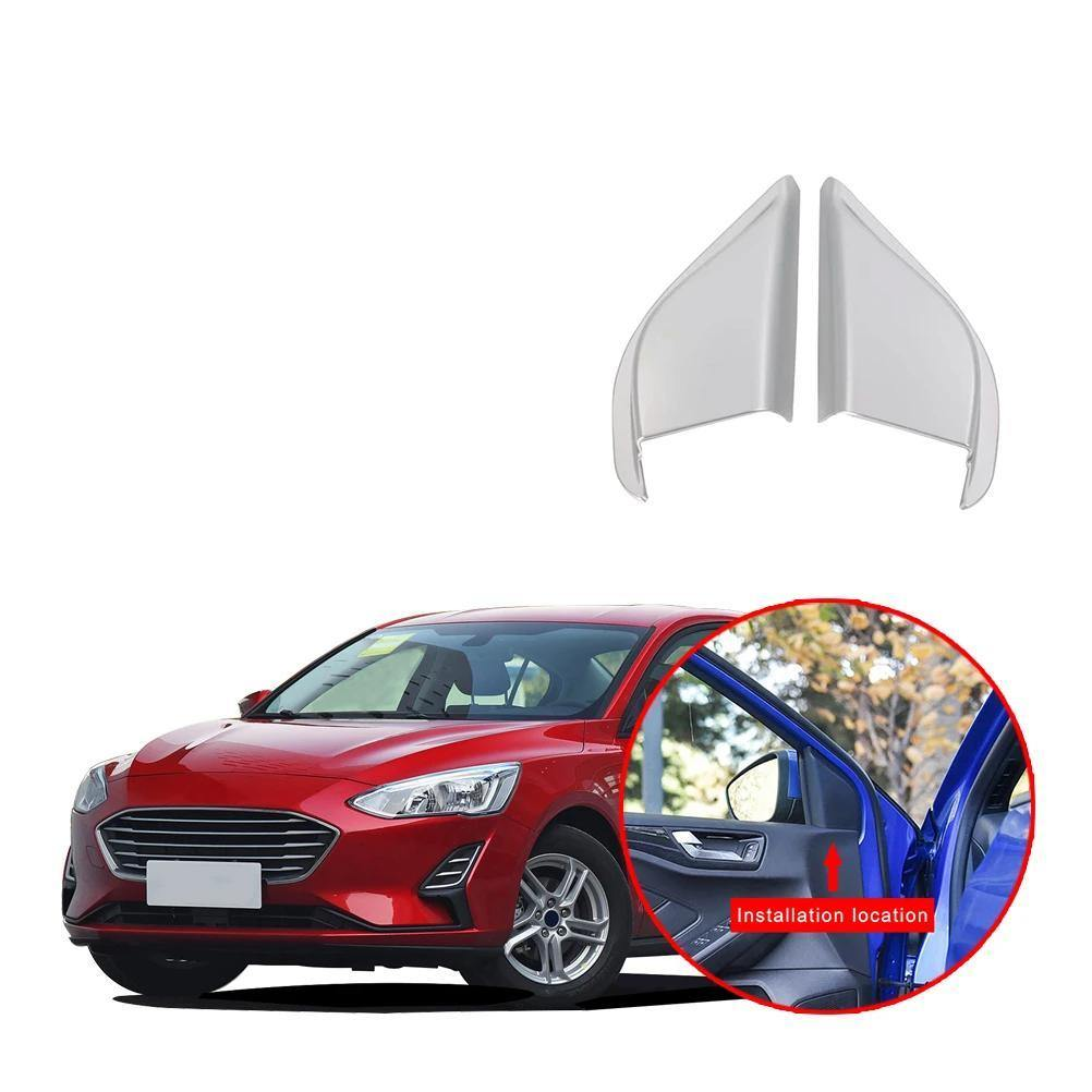 Ninte Ford Focus Sedan 2019-2020 Front Door A Pillar Triangle Cover - NINTE