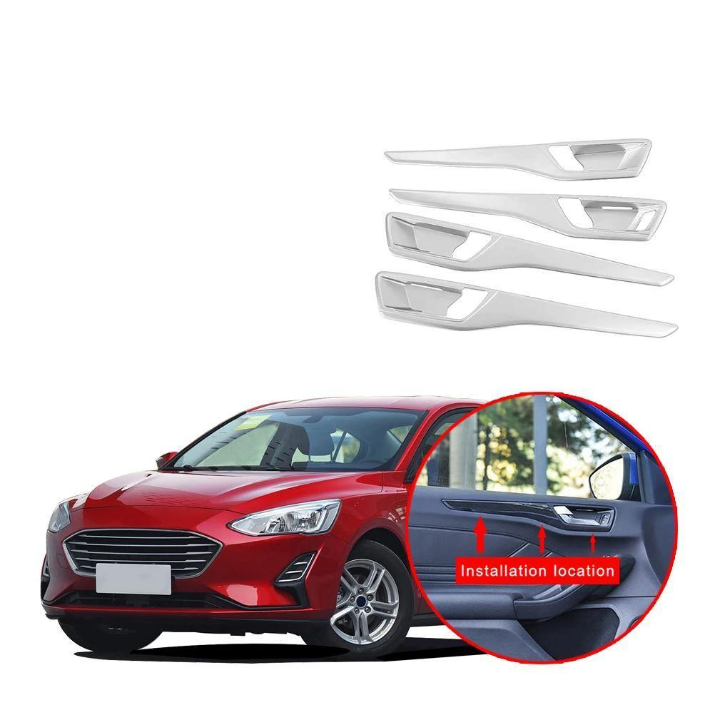 Ninte Ford Focus Sedan 2019-2020 Inner Door Handle Bowl Cover - NINTE
