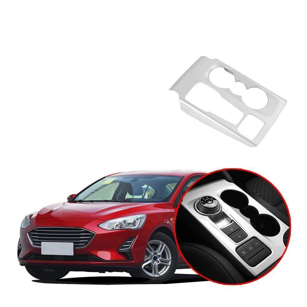 NINTE Ford Focus 2019-2020 Gear Shift Box Water Cup Panel Cover - NINTE