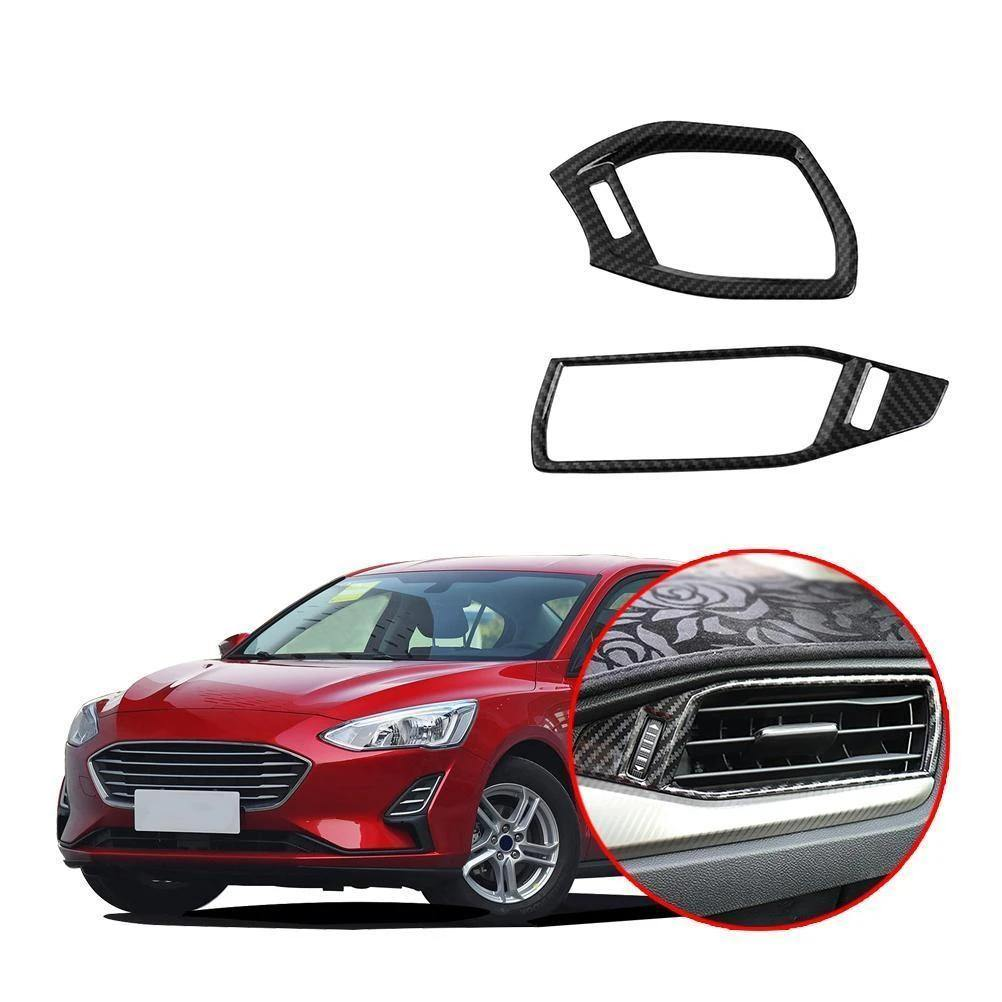 NINTE Ford Focus 4 2019-2020 2 Sides Dashboard Outlet Cover Internal Air Outlets - NINTE