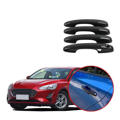 4 Door Handle Cover For 2019 2020 Ford Focus NINTE - NINTE
