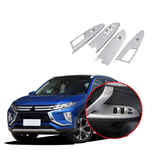 Interior window switch panel cover Tirm For Mitsubishi Eclipse Cross 2017-2019 NINTE - NINTE