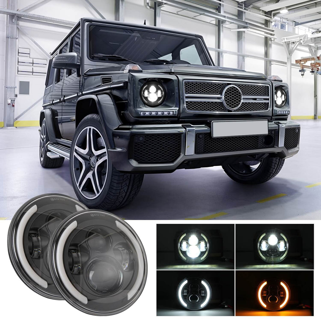 NINTE angel eye headlights 200W