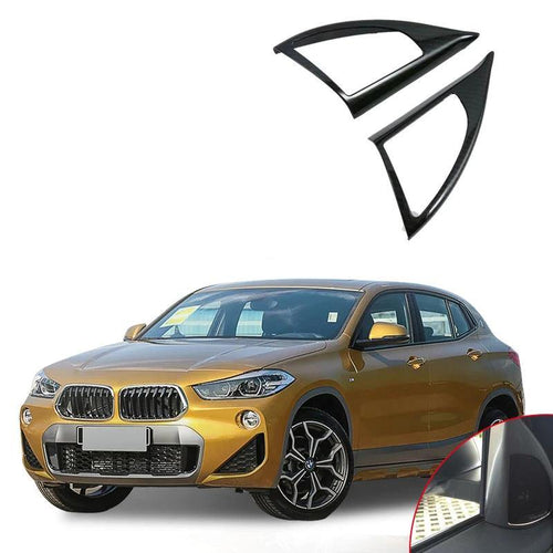 NINTE Car Accessories-Interior Front Door Triangle Cover For BMW X2 2018 - NINTE