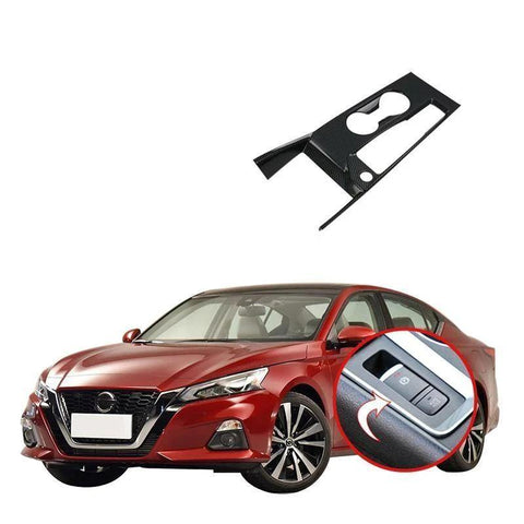 NINTE Interior Gear Box Shift Panel Sticker Cover Car Styling Accessories For Nissan Altima 2019 - NINTE