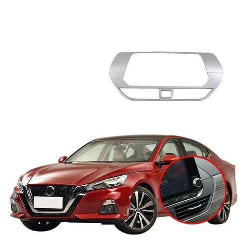 NINTE Car Styling ABS Internal Stickers Auto Frame GPS Navigation Decoration Sequins Accessories For Nissan Altima 2019 - NINTE