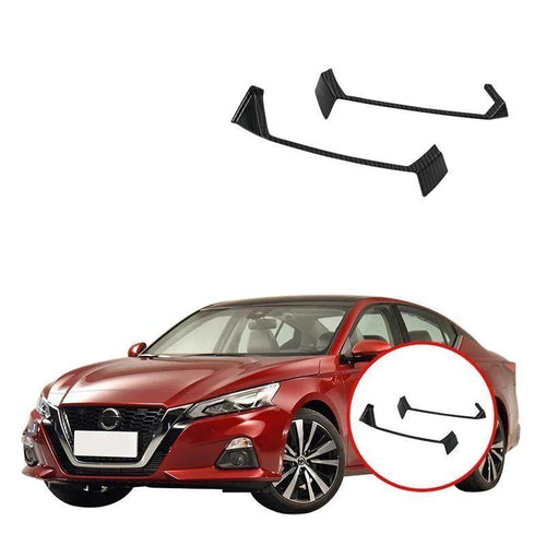 NINTE Left Right Console Air Condition Vent Outlet Panel Cover Frame Sequin Trims ABS Car Accessory For Nissan ALTIMA 2019 - NINTE