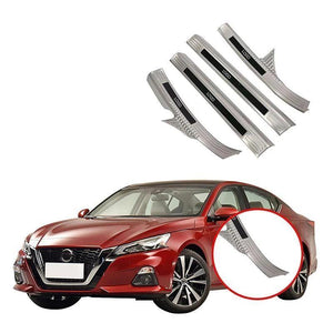 NINTE Car Accessories Interior Stainless Steel Sill Scuff Plate Threshold Plate Cover Car Styling For Nissan Altima 2019 - NINTE