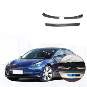 NINTE Rear Bumper Guard Sill Protector Plate For Tesla Model 3 2017-2019 - NINTE