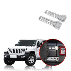 NINTE Tailgate Spare Tire Hinge Cover Trim For Jeep Wrangler JL 2018 2019 - NINTE