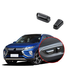 Load image into Gallery viewer, NINTE Mitsubishi Eclipse Cross 2017-2019 2 PCS Interior Car Seat Adjustment Button Cover - NINTE
