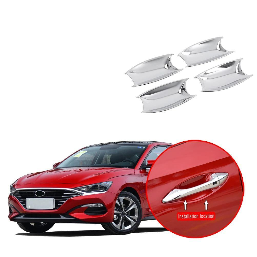 Ninte Hyundai Lafesta 2018-2019 4 PCS Outer Side Door Handle Bowls Decor - NINTE