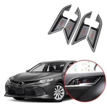 NINTE Inner Door Handle Bowl Cover Trim For Toyota Camry 2018 2019
