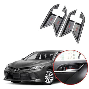 NINTE Inner Door Handle Bowl Cover Trim For Toyota Camry 2018 2020 - NINTE