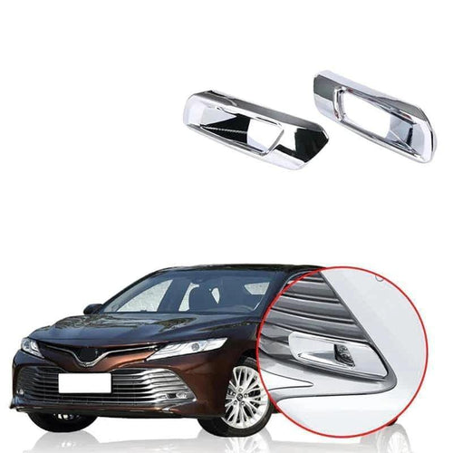 NINTE Front Fog Light Lamp Cover For 2018 2019 Toyota Camry L/LE/XLE Model - NINTE
