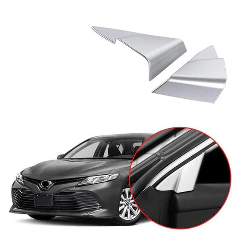 NINTE Window Triangle Frame A Pillar Cover Trim For Toyota Camry 2018-2019 - NINTE