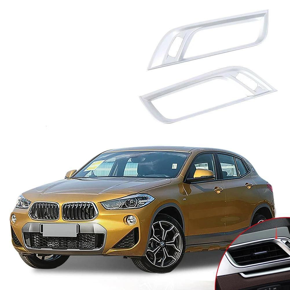 NINTE BMW X2 2018 2 PCS ABS Side Air-Conditioning Vent Cover - NINTE
